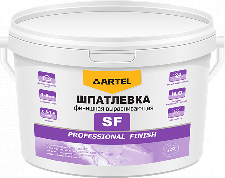 Шпатлевка финишная выравнивающая SF Professional Finish