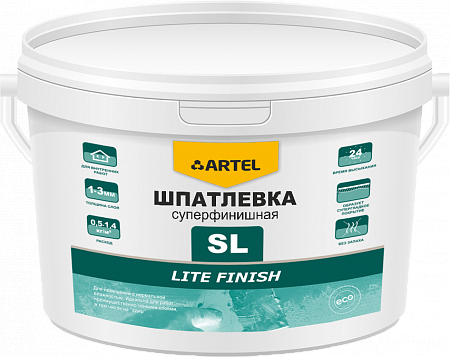 Шпатлевка SL суперфинишная Lite FINISH
